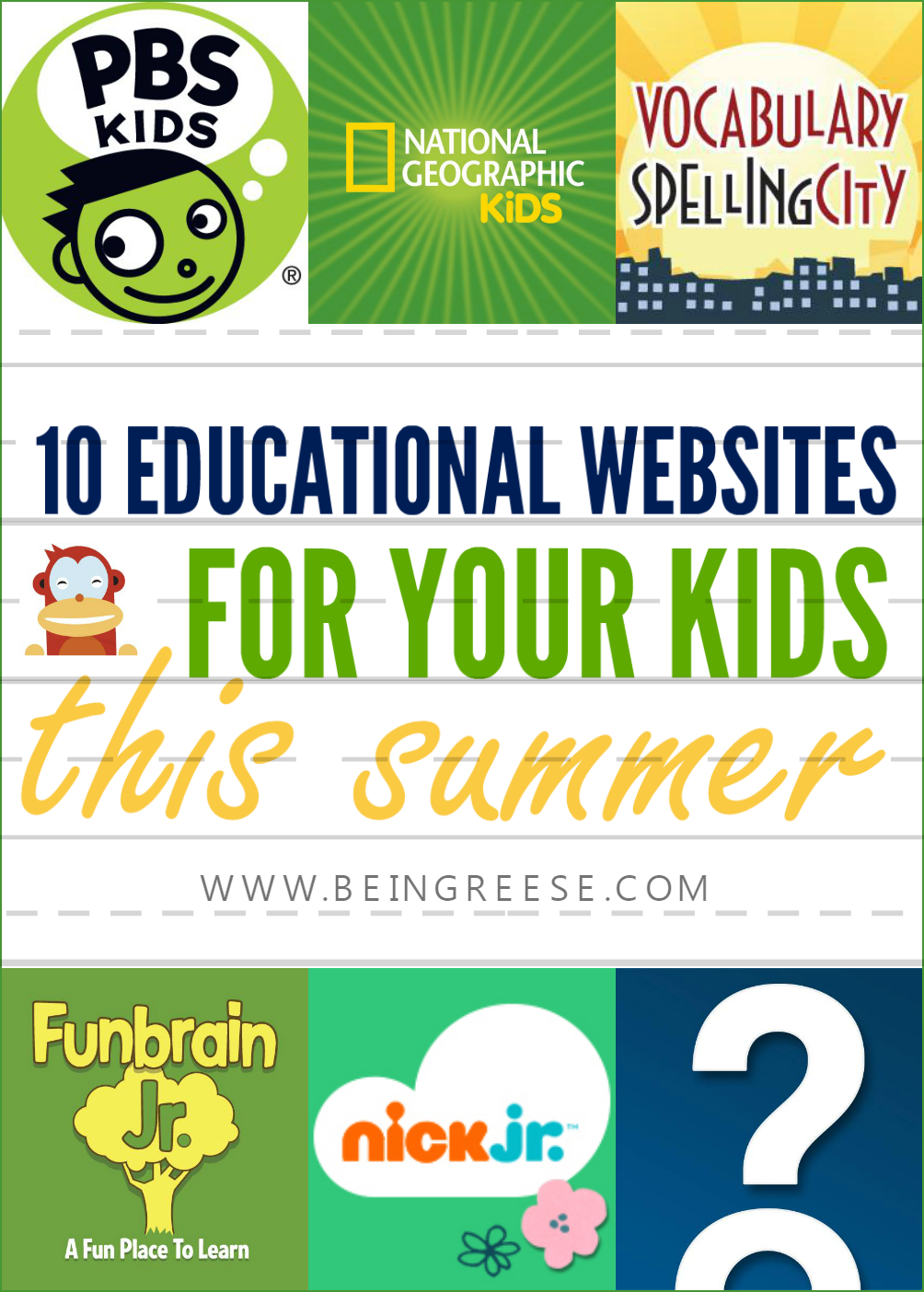 Educational websites for young children