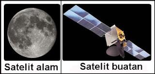 Gambar Benda langit satelit