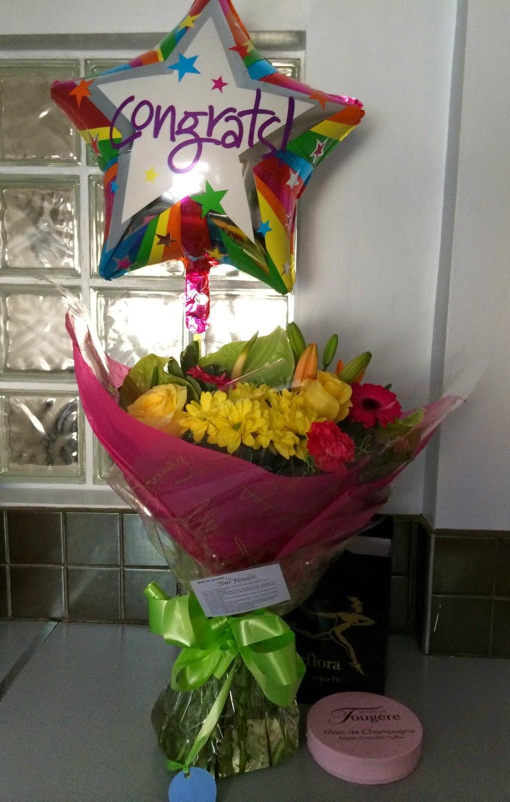 Interflora,Celebration Flowers, Driving Test,