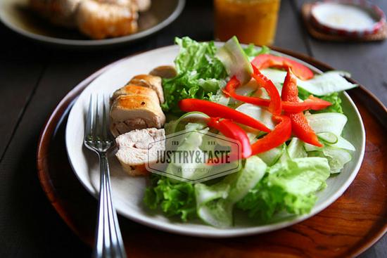 Resep Chicken Sous-Vide Salad
