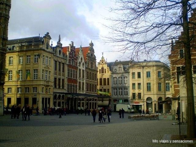 Plaza Mayor, Lovaina, Flandes (Bélgica)
