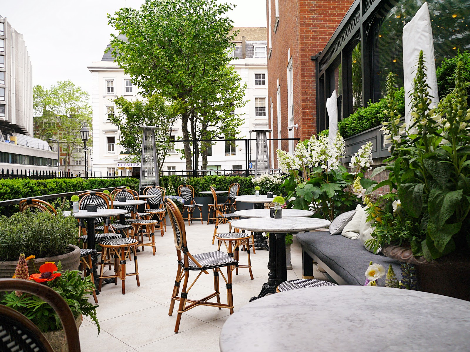 Dalloway Terrace in Bloomsbury, London