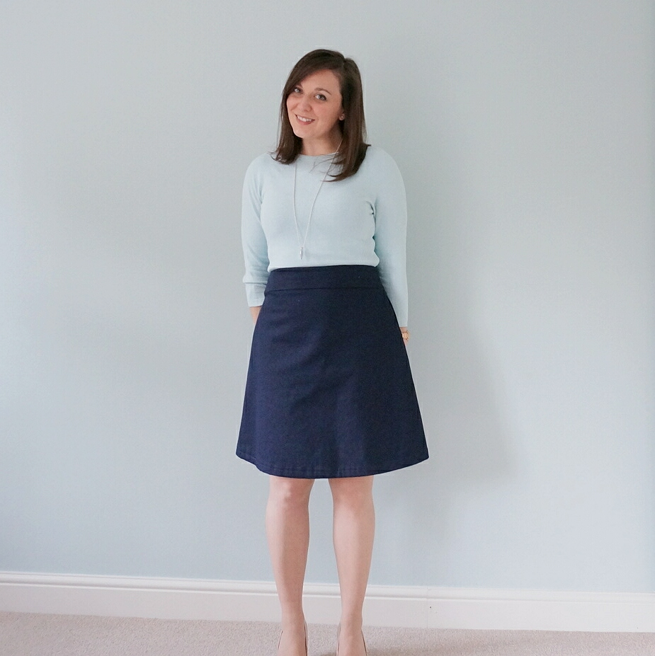 Delphine skirt from Tilly and the Buttons