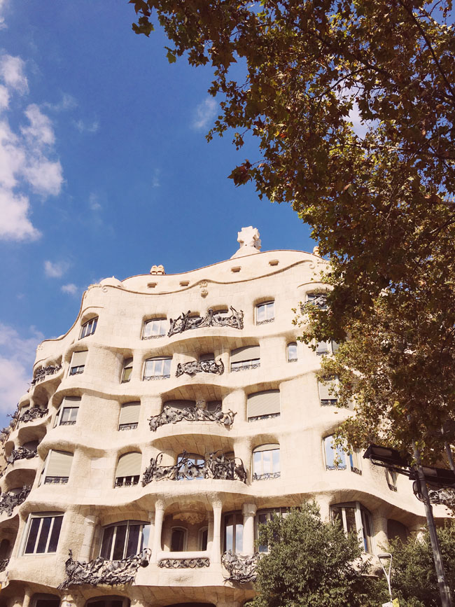 Barcelona in 3 days - Barcelona travel guide - Casa Mila - Gaudi