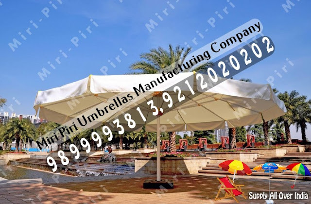 Cafeteria Umbrellas Manufacturers, Manufacturer of Garden Umbrellas - Side Pool Umbrella, Cantilever Umbrella, Round Umbrella and Wooden Patio Umbrella