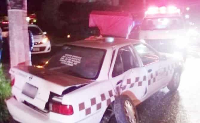 Taxi, ambulancia, noche