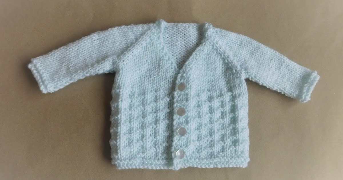 Free Knitting Pattern Baby V Neck Cardigan : mariannas lazy daisy days: NEVIS Top-down V-neck Baby Cardigan Jacket