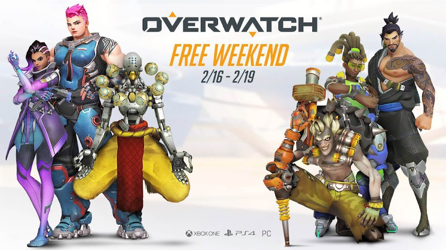 overwatch free weekend february