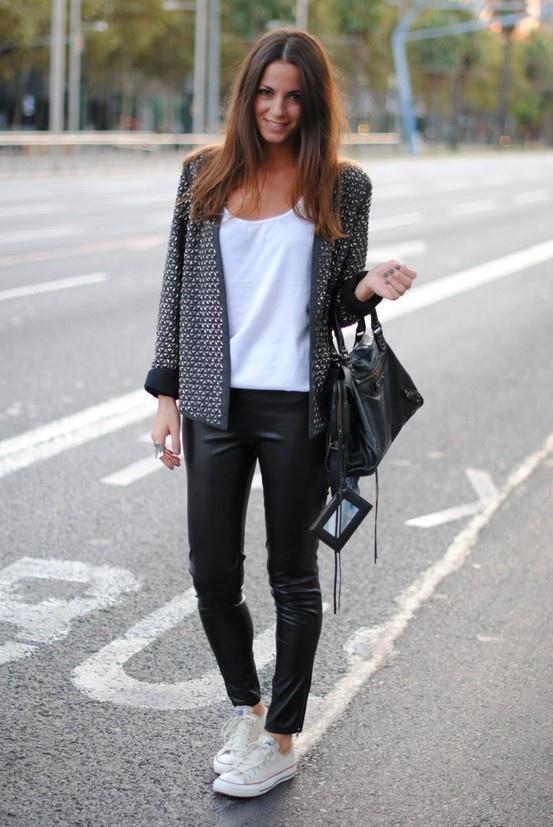 Converse Haute Avec Un Jean