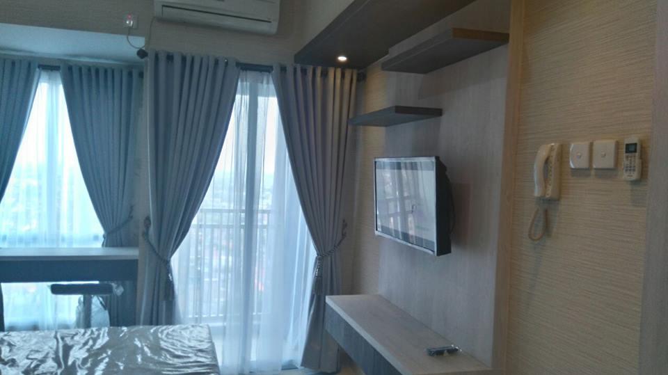 Design interior apartemen grand dhika studio infinity for Interior apartemen studio