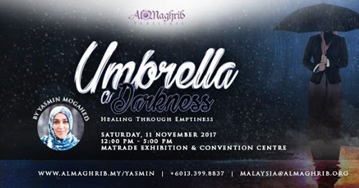 Umbrella of Darkness: Healing Through Emptiness by Yasmin Mogahed