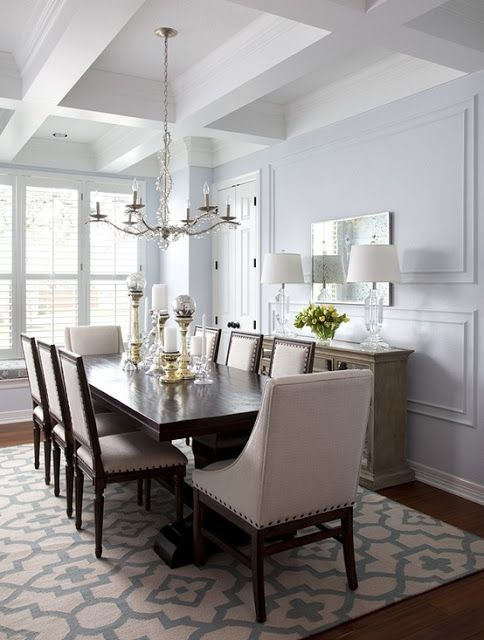 The lilac lobster august 2013 - Dining room area rugs ideas ...