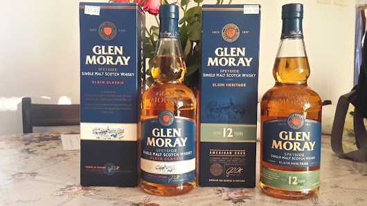 Glen Moray Elgin Classic and Glen Moray 12-Year-Old