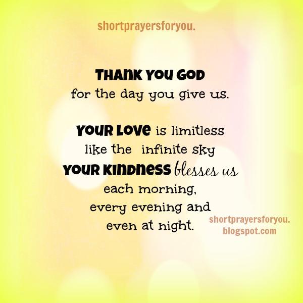 short prayers of thanks to god - softwaremonster info
