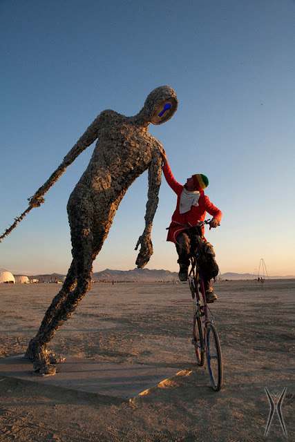 Burning Man the annual festival that takes place at Black Rock City