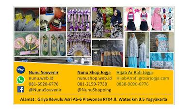 Kartu nama Nunu Shop Jogja