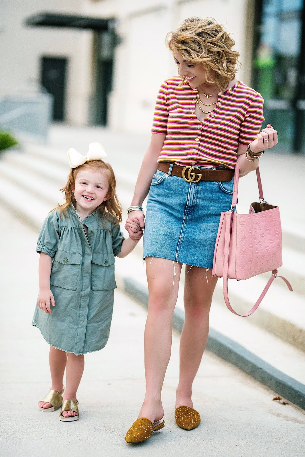 Transition to Fall Looks for Both Moms and Kids - Something Delightful Blog