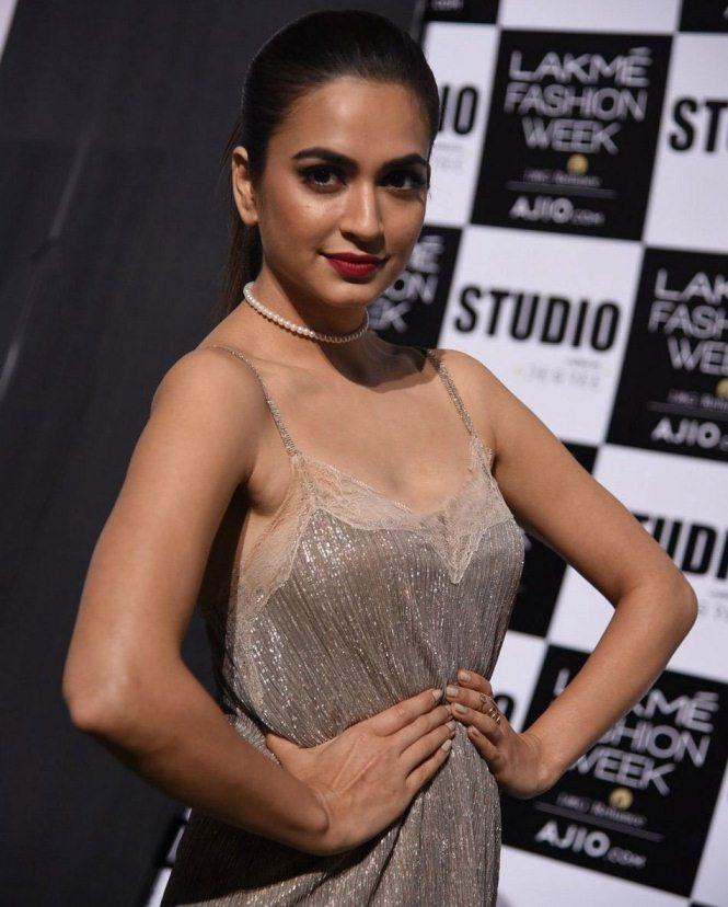 Kriti Kharbanda at Lakme Fashion Week Summer Resort 2017