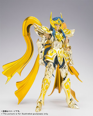 Saint Seiya Soul Of Gold arriva la Myth Cloth EX di Camus