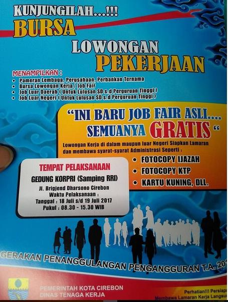 Bursa Kerja Cirebon Gratis