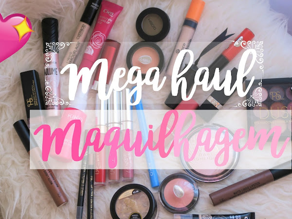 Video - Mega Haul de Maquilhagem