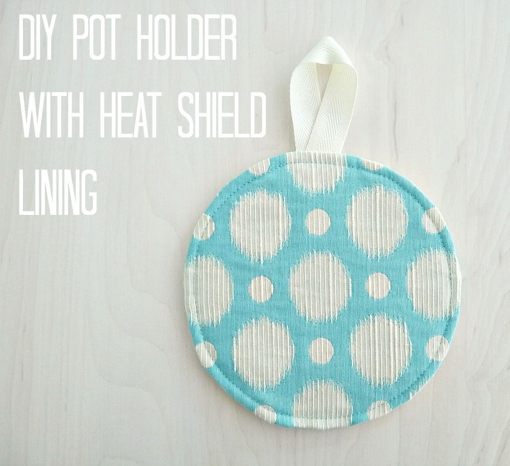 DIY heat shield trivet