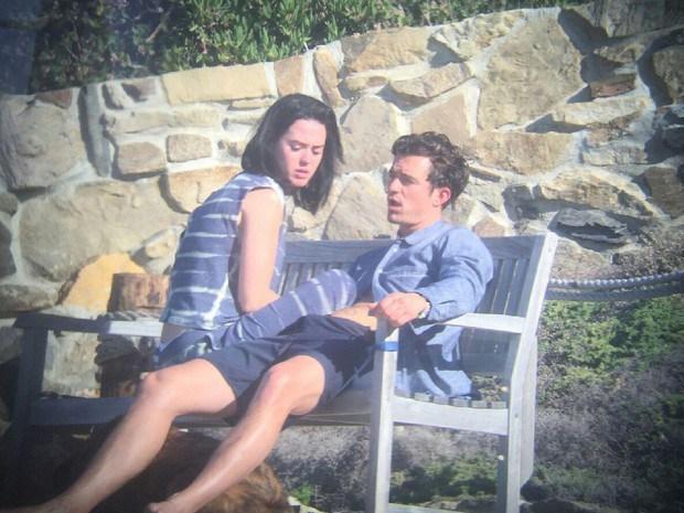 Katy Perry y Orlando Bloom son fotografiados en momento íntimo (FOTOS)
