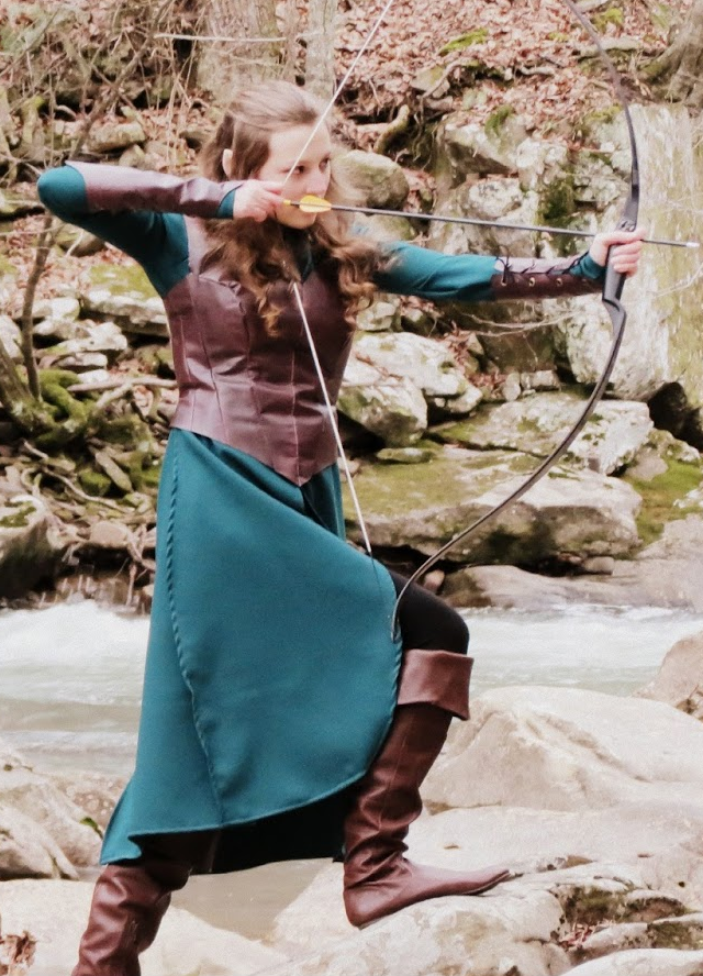 Tauriel Costume Tutorial by Beth of Adventures of an Elven Princess