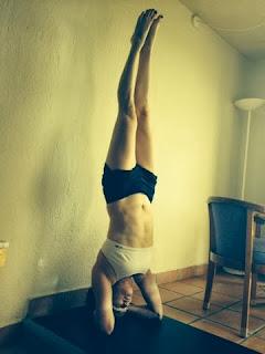 scott lamps yoga ida headstand