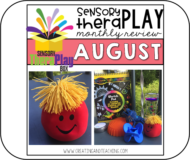 Sensory Theraply Box! -- August Review