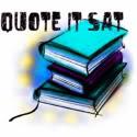 Quote It Saturday (Book Meme)