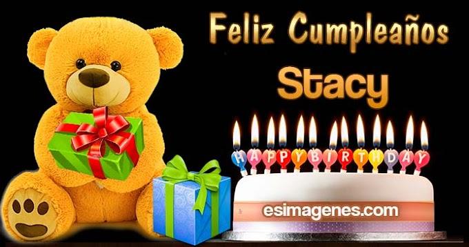 Feliz cumpleaños Stacy