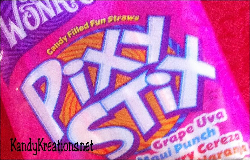 Pixy sticks candy as frankincense for christmas nativity advent calendar