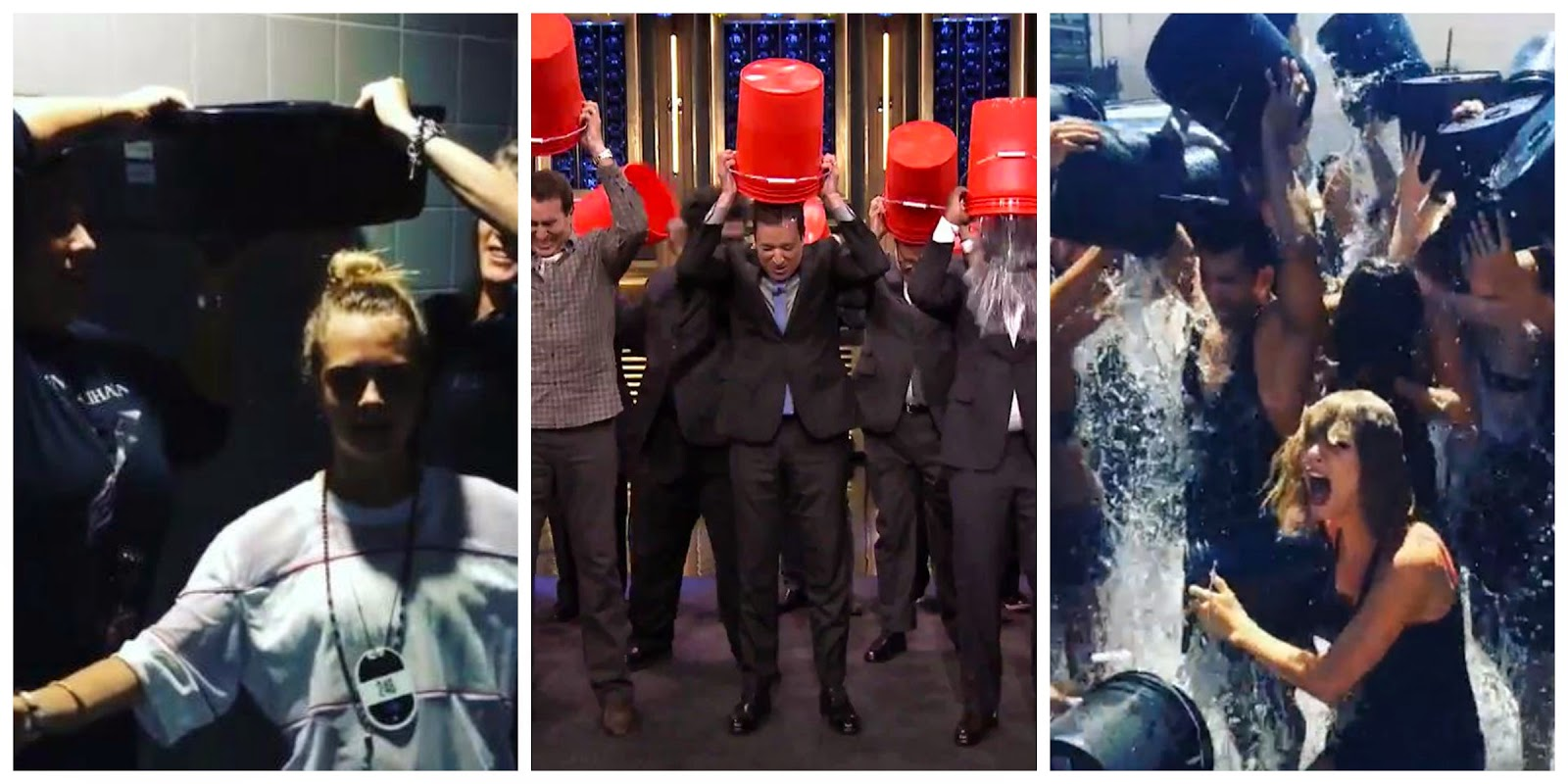 Celebrity Ice Bucket Challenges!