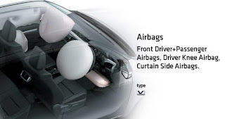dual air-bag new-hilux