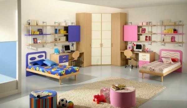 cuarto para niña y niña