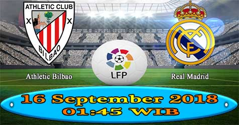 Prediksi Bola855 Athletic Bilbao vs Real Madrid 16 September 2018