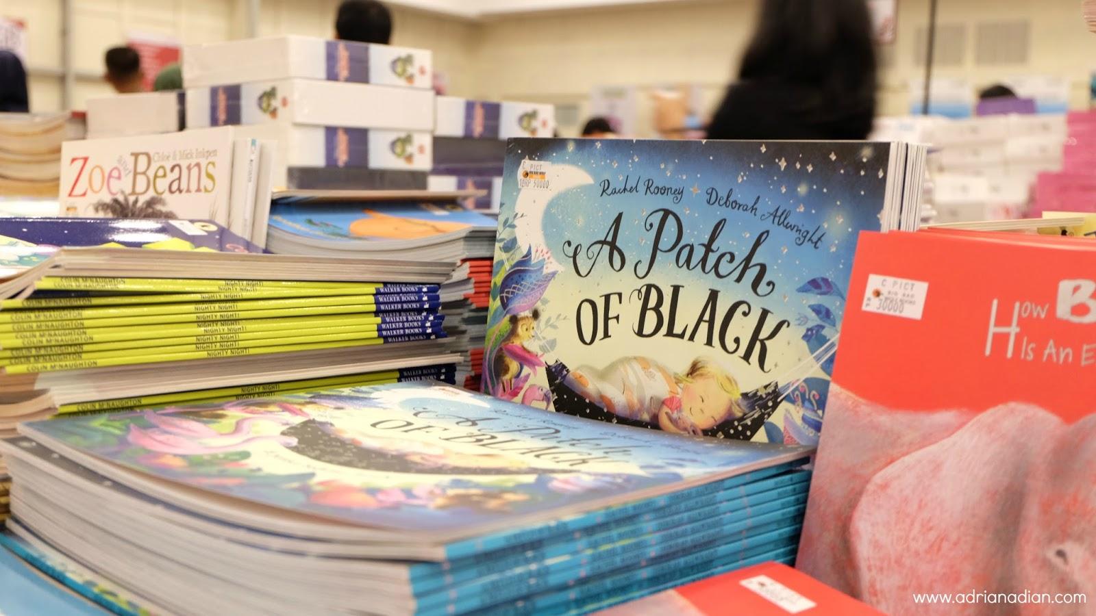 Buku anak apa aja yang ada di Big Bad Wolf 2017