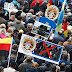 Radical anti-refugee protesters jeer at German Chancellor Angela Merkel