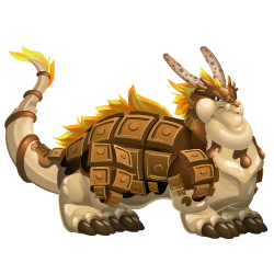 Appearance of Chocolate Dragon when adult