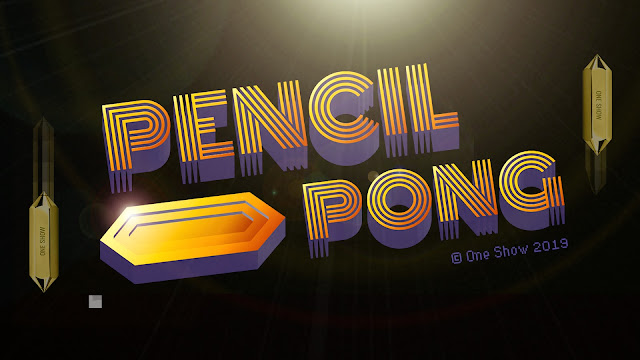 Zulu Alpha Kilo launches Pencil Pong to conclude the 2019 One Show Awards campaign