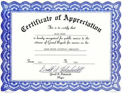 Certificate Of Recognition Template For Word MjNnj