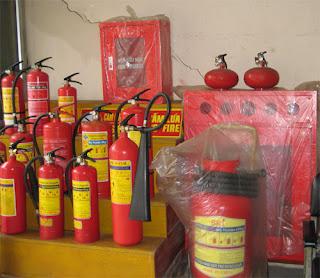 Bình chữa cháy các loại