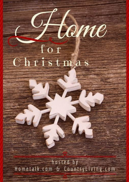 Hometalk and Country Living Home for Christmas blog hop