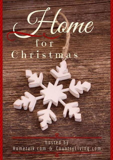 Hometalk and Country Living Home for Christmas blog hop