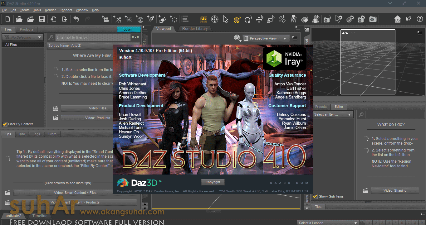 Daz Studio Pro full version