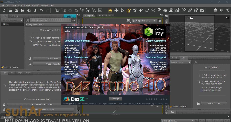 Daz Studio Pro full version