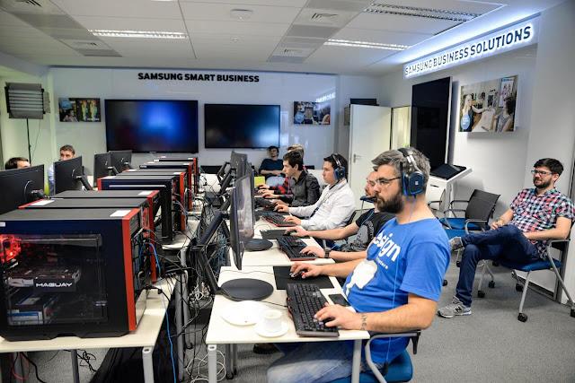 Eveniment de lansare monitoare de gaming Samsung Quantum Dot