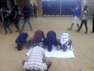 Uniosun Ikire Campus  Students Finally Start Protest (pictures)