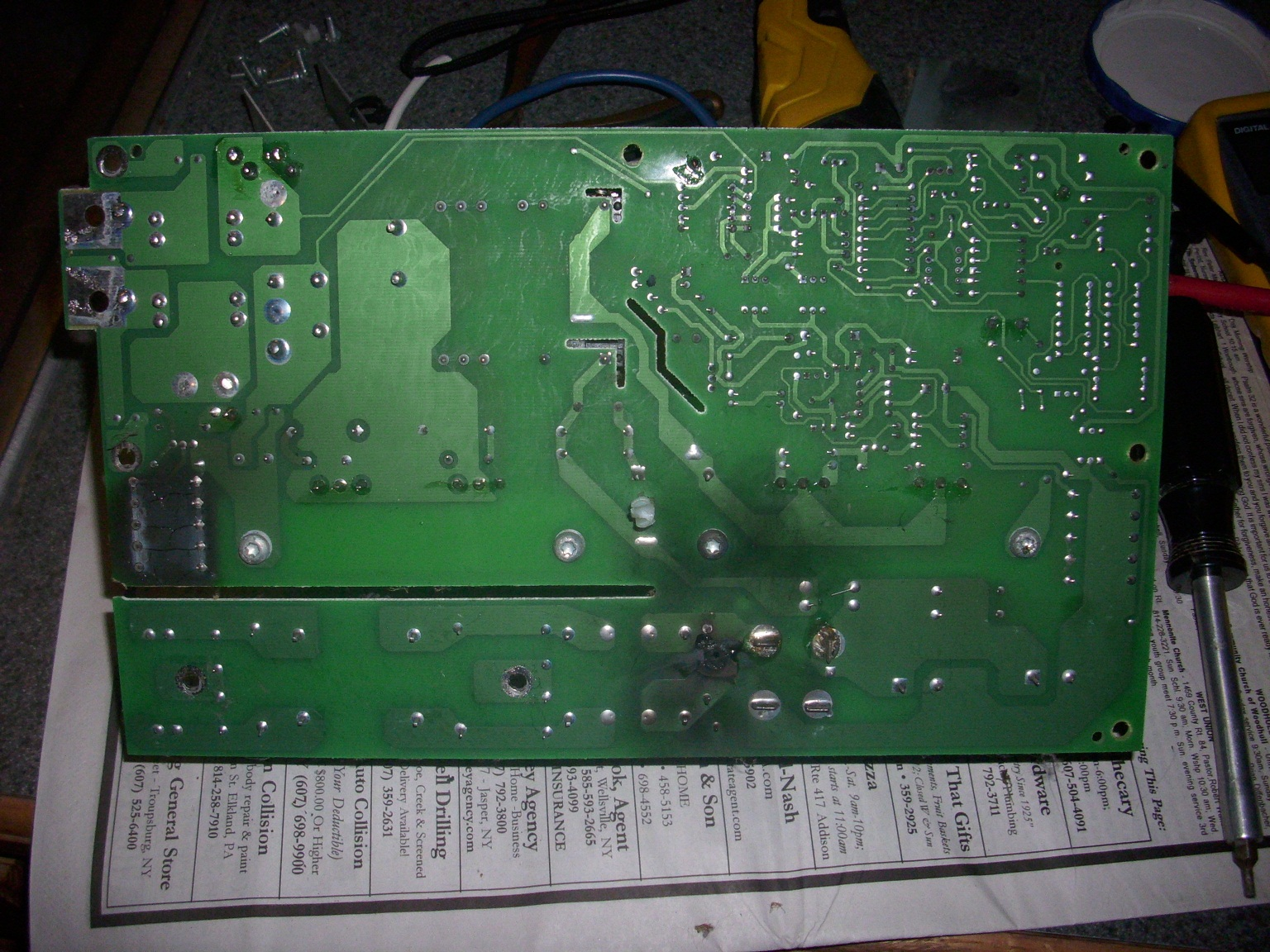 Steves Fix It Shop: Parallax 7345 RV Power Converter (SMPS)